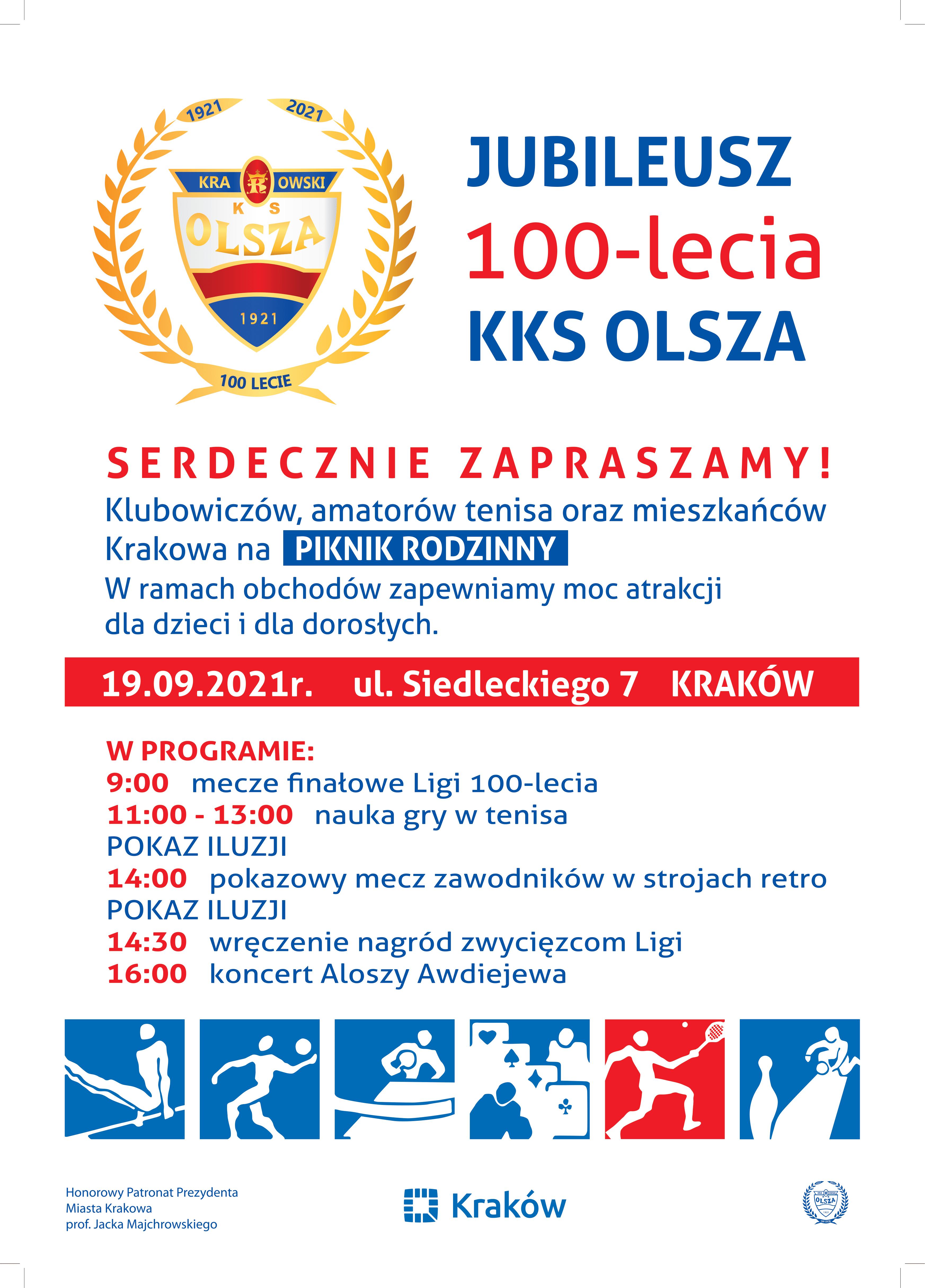 Jubileusz 100-lecia KKS Olsza
