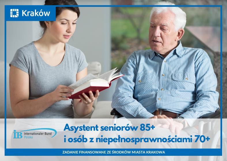 Trwa rekrutacja do projektu asystent 85+ i 70+ w Krakowie